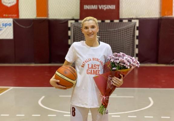 Natalia Burlakova și-a anunțat retragerea din baschetul profesionist