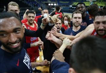 CSKA Moscova, prima echipă calificată la Final Four-ul Euroligii