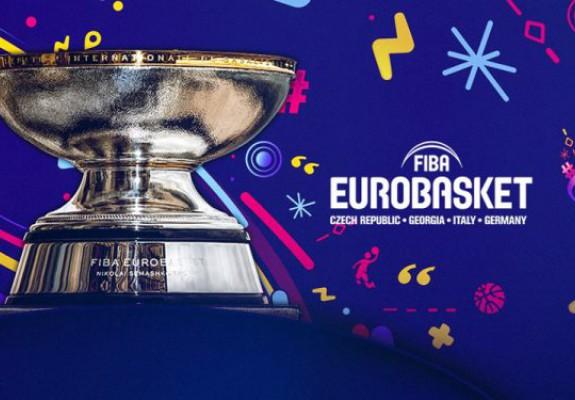 S-au stabilit grupele pentru EuroBasket 2022